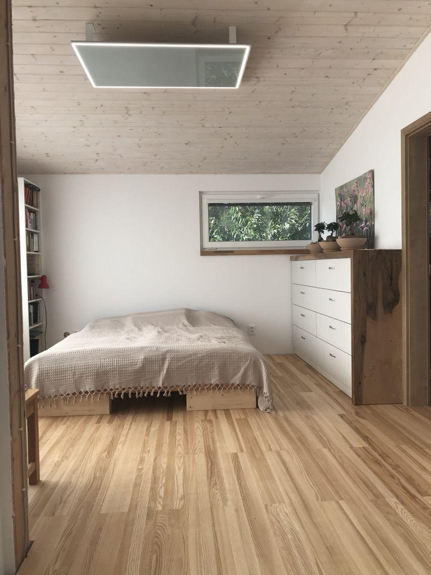 Refrence infratopení – ložnice