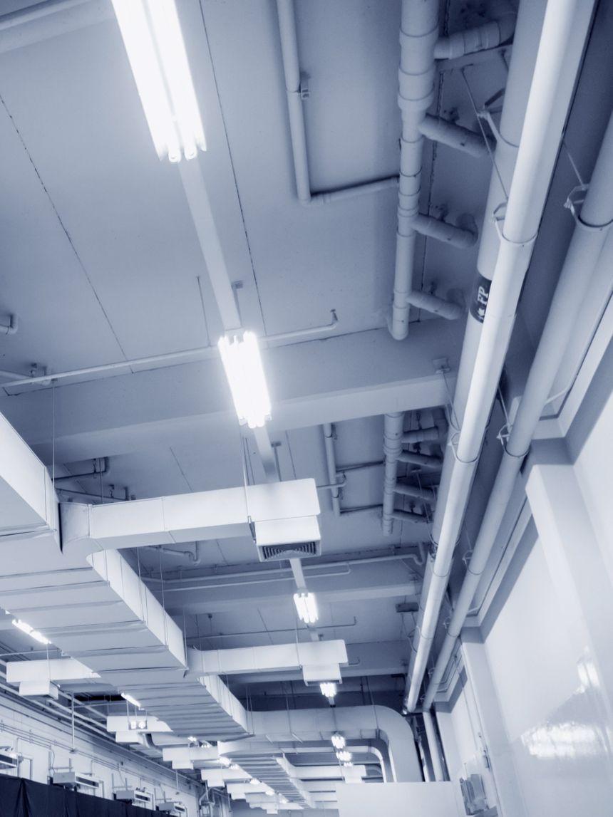 Průmyslové sálavé zářiče