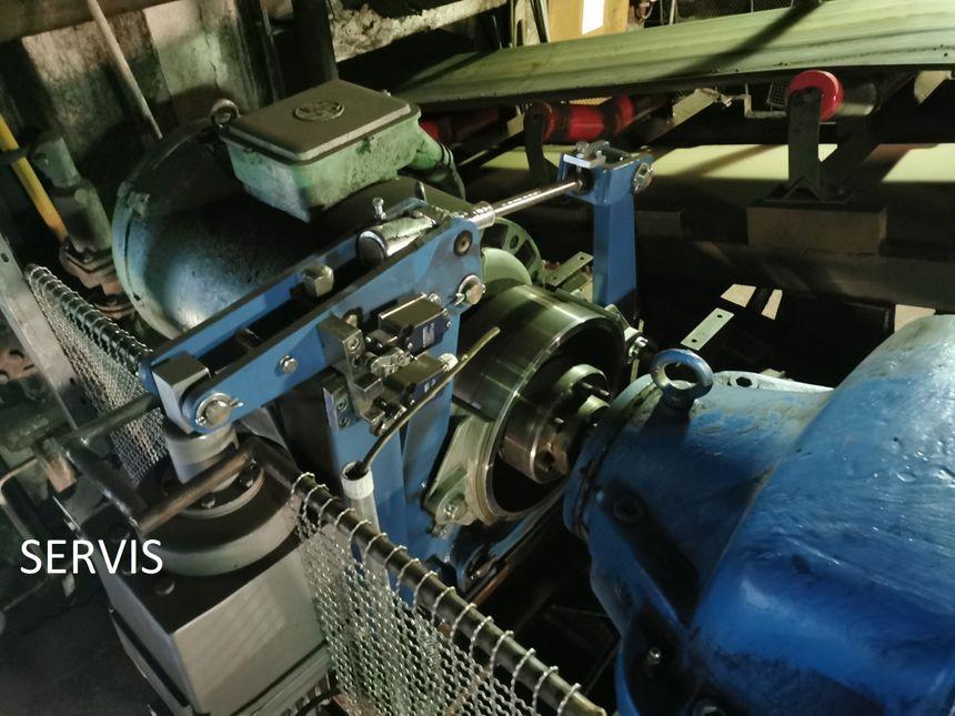 Oprava průmyslové převodovky